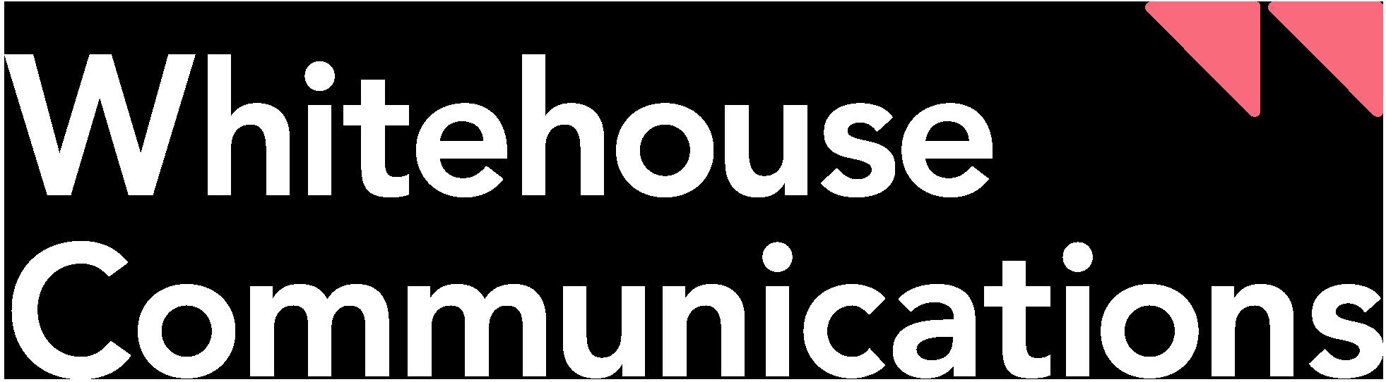 wh comms logo white